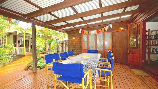 Bamboo Cottage B&B: Alfresco Dining