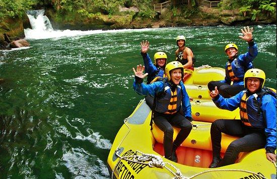 Okere Falls, Nueva Zelanda: Rotorua Rafting - at its best!