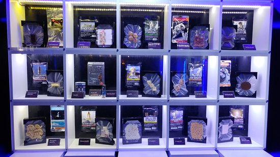 science museum and planetarium space food from time to time
