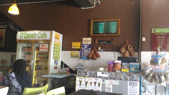 Bangi, Malaysia: D'Qaseh Cafe