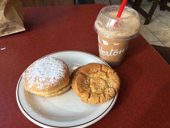 Tim Hortons: Ice Cap and sweet treats