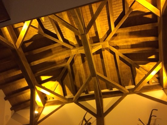Beautiful Wooden Construction Of Hote Ceiling Roof Picture Of