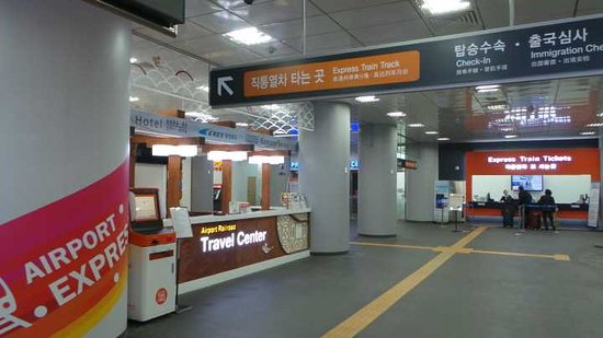 Airport Railroad Travel Center