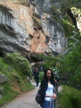 Jenolan Caves, Australia: entrance of the caves