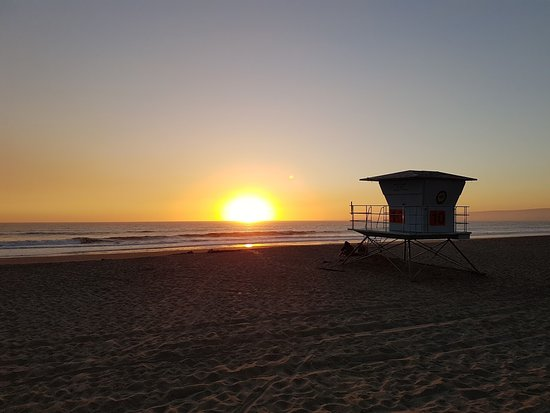 Aptos, CA: Sunset at Manresa State Beach
