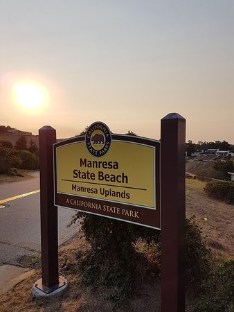 Aptos, CA: Entrance sign