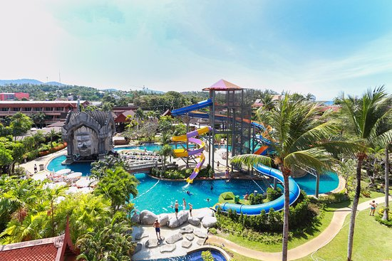 Phuket Orchid Resort & Spa: Sliders Fun Pool