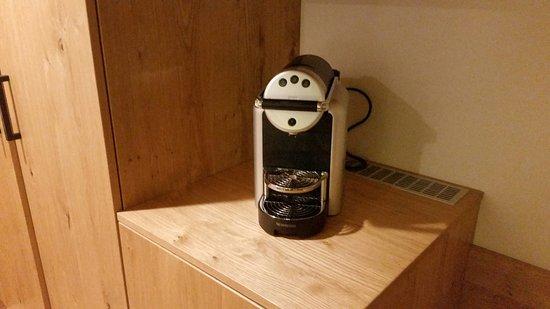 Mersch, Luxemburg: Nespresso machine