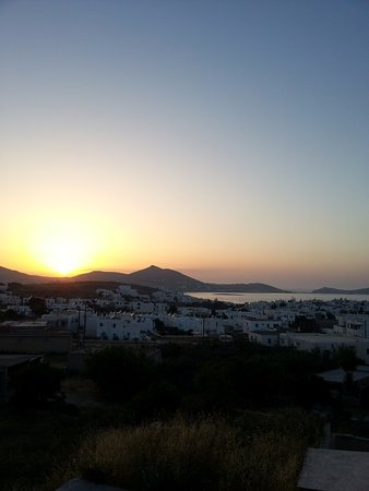 Naoussa, Greece: post-class sunset. best feeling in the world.