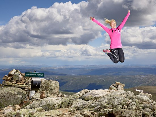 Hol Municipality, Norwegia: On top of the world, at Hallingskarvet National Park (Photo: Emile Holba)