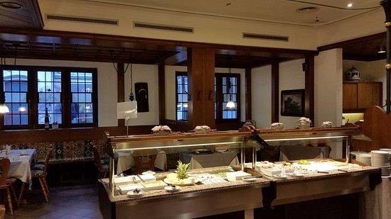 Hotel Felsenkeller: Ontbijtbuffet.