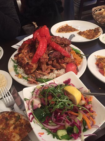 sultan restaurant i love this mixed grill