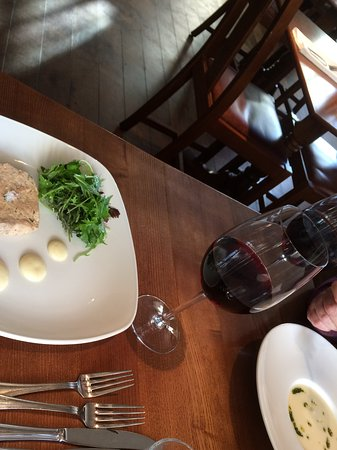 Angmering, UK: Pork terrine starter