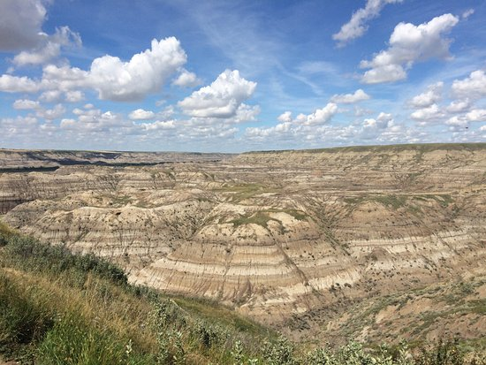 Horsethief Canyon: a view of the canyon