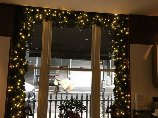 steak lobster marble arch beautiful christmas decorations adding to the warmth of this lovely