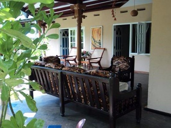 Talpe, Sri Lanka : Lobby area for relaxing