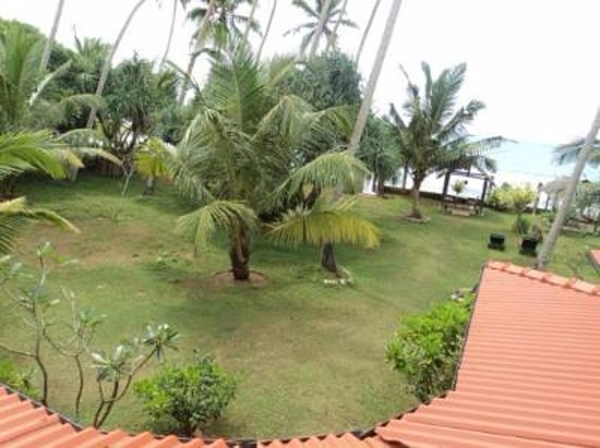 Talpe, Sri Lanka : view from balcony room