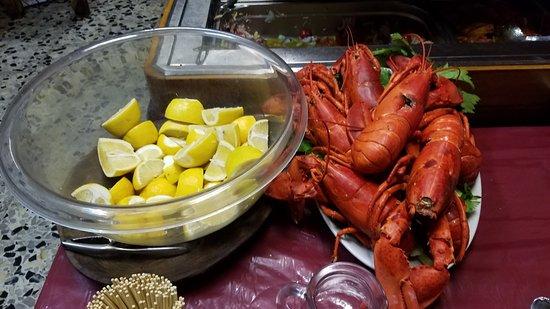 Trattoria Lillicu: Fresh seafood