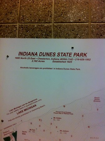 Chesterton, IN: Sign in for hikes