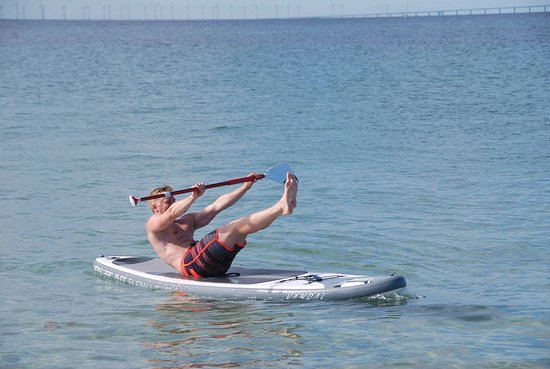 Vellinge, Sweden: Stand Up paddle  fitness  privat