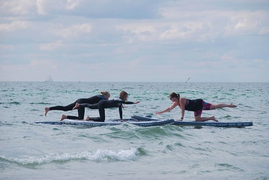 Vellinge, Sverige: Stand Up paddle  Yoga