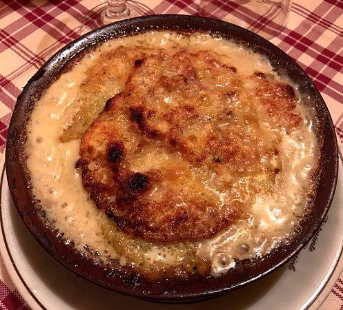 Schilpario, Italie : Lasagne di polenta