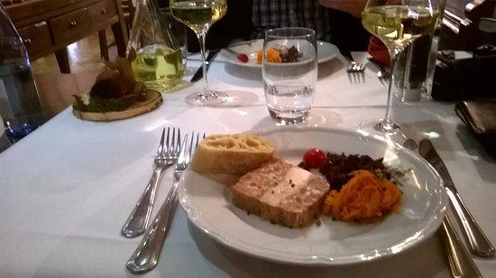 Ostheim, France: plat du jour vorspeise : terrine starsbourgeois