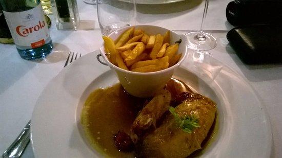 Ostheim, Francia: polet rôti, frites