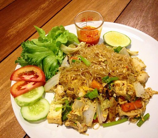 Kinsook cafe 39 happy eating talat nuea restaurant avis for Cuisine you avis
