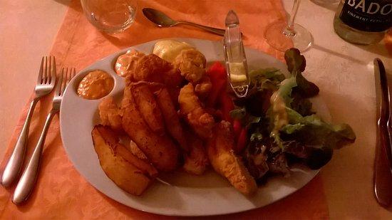 Hyevre-Paroisse, Frankreich: friture de sandre ou de petite perche