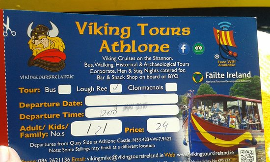 Athlone, Irlandia: Viking Tours