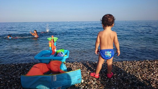 Sant Anna Beach In Giarre Family Vacation Sicily