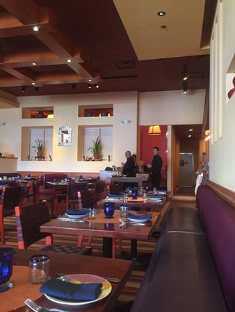 Rosa Mexicano - Riverside Square: Back room in the distance