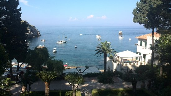 Grand Hotel Mazzaro Sea Palace : Panoramic sea view from the hotel