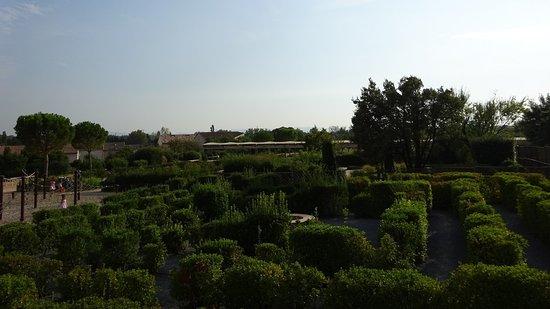 Caumont-sur-Durance, فرنسا: Romeinse tuin in Caumont-sur-Durance