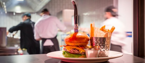 Hard Rock Cafe: Our Legendary burger