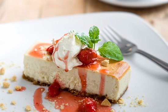 Endon, UK: Vanilla Cheesecake for afters