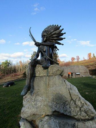 Harvard, MA: one of the statues Wo Peen The Dreamer