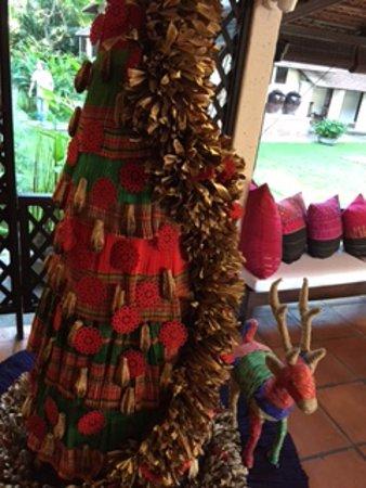 Tamarind Village: December brings Christmas decorations with a Thai twist