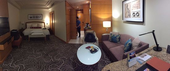Pan Pacific Manila: The room we stayed in