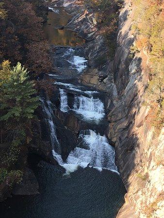 Suspension Bridge Picture Of Tallulah Gorge State Park Tallulah Falls Tripadvisor