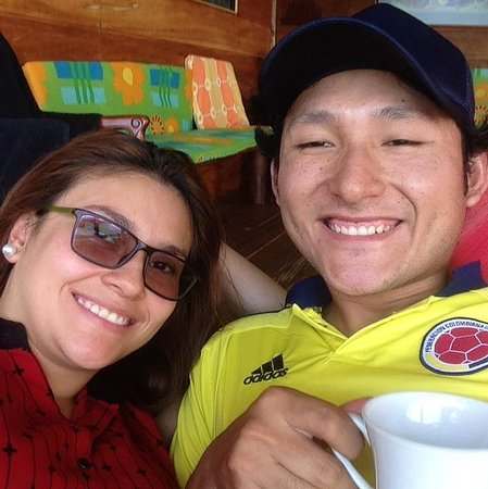 Cubarral, Kolumbia: Sonrisas en el hermoso mar verde, acompañados por Senderos del Canajagua