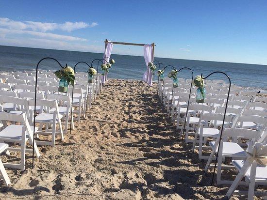 Ocean S Edge Restaurant Event Center Our Beautiful Beach Wedding
