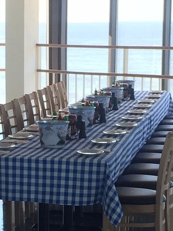 North Topsail Beach, Carolina del Norte: Topsail Island Steam Pot rehearsal dinner