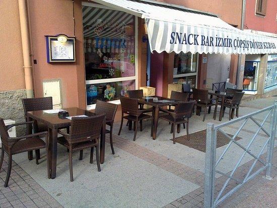 Saverne, France: Le snack bar Izmir