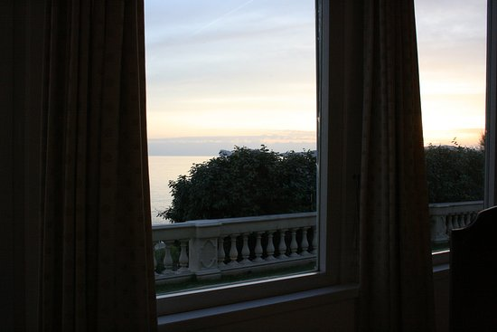 Villa Las Tronas Hotel  & Spa: Annoying Hedge Block View From Hotel Restaurant
