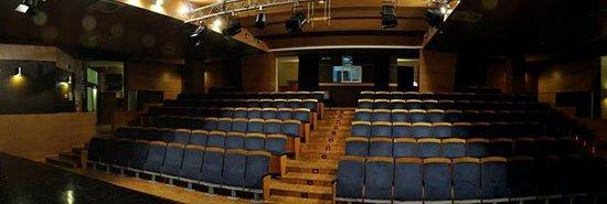 Zola Predosa, Italie : Auditorium Spazio Binario visto dal palco