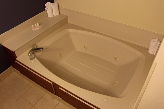 Enjoy our Jr. suites with a private hot tub located off of the ...