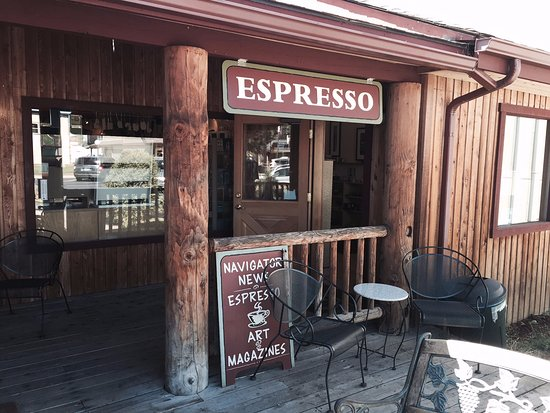 Coffee House in Sisters, Oregon