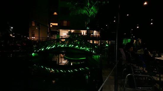 Hotel Green Park Restaurant: The power lobby In night